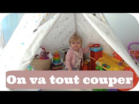 ON VA COUPER LES CHEVEUX DE LILI-ROSE ! - VLOG FAMILLE ALLO MAMAN
