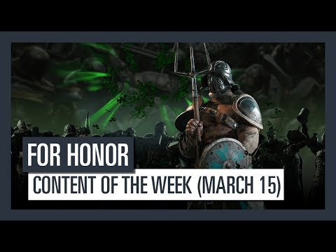 FOR HONOR - New content of the week (March 15)
