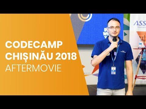 Vezi cum a fost la Codecamp Chișinău 2018! ASSIST Software - Aftermovie
