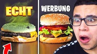 Ich REAGIERE auf WERBUNG vs REALITÄT!