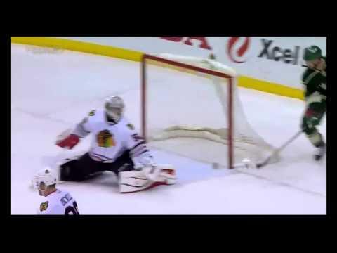 All Minnesota Wild Regular Season Goals v Chicago Blackhawks 2014/15
