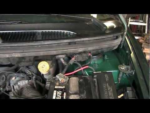 Dodge, Chrysler, Plymouth, Gen.3 Minivan, 1996 – 2000, Strut Tower Repair Job