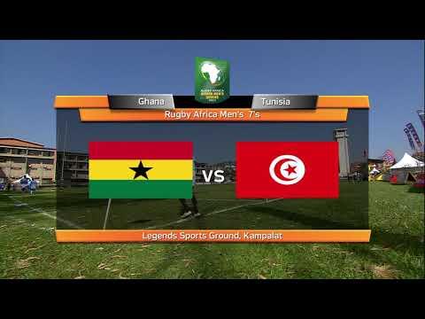 Ghana vs Tunisie     Rugby à 7      sem ref