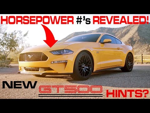 2018 mustang gt hp revealed what does it mean for the gt500 youtube. Black Bedroom Furniture Sets. Home Design Ideas