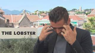colin farrell on the lobster cannes film festival 2015