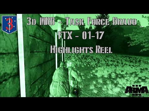 3d Marine Raider Battalion - FTX - 01-17 - Highlights Reel.