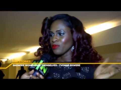 E-XTRA NEWS - SHOWBIZ WOMEN DISS THEMSELVES - YVONNE EKWERE