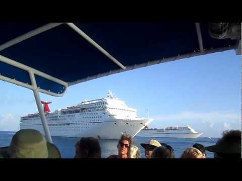 Cayman Islands - Carnival Freedom Cruise Ship