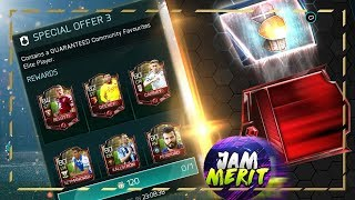 GUARANTEED COM FAVE ELITE PACK ! + 20 LVL PACKS WITH ELITE PULLS ! | FIFA Mobile