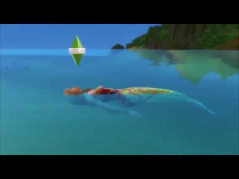 HOW TO BECOME MERMAID // The sims 4 island living