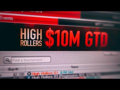 Empiezo con torneos de 2100$!   Highrollers #01
