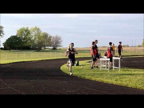 Southern Wells, Bluffton, South Adams Middle School Track running2