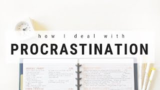 How I deal with procrastination - Tips to stop procrastinating | studytee
