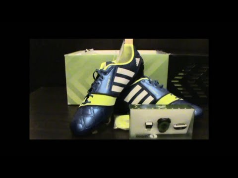68b86ce6c Unboxing Adidas nitrocharge 1.0 FG + micoach speed cell bundle - YouTube