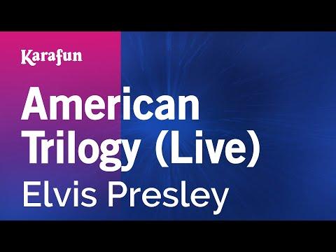 Karaoke American Trilogy (Live) - Elvis Presley *