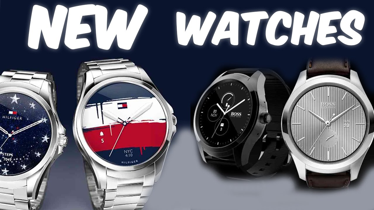 39e3304bad161d NEW Hugo Boss and Tommy Hilfiger AndroidWear smartwatches! - YouTube
