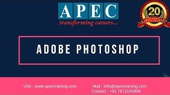 Adobe Photoshop Training Institutes in Hyderabad | Introduction to Photoshop
