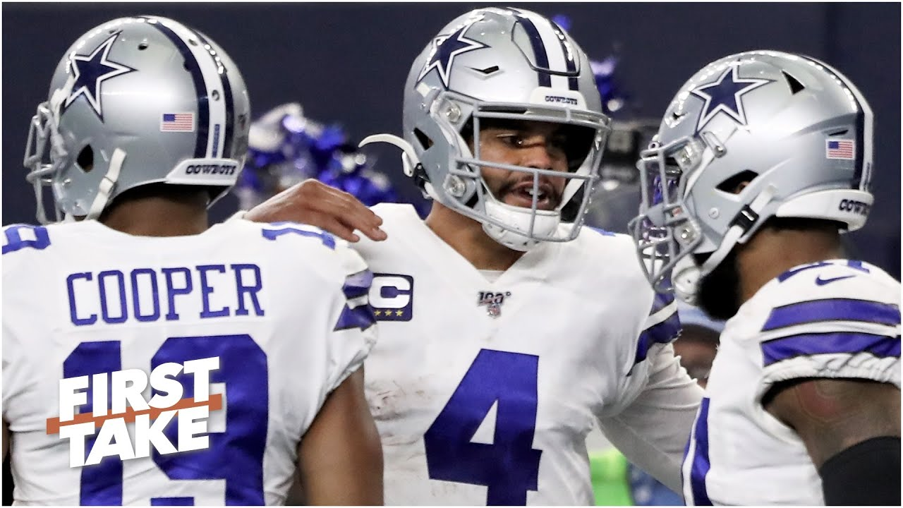 Where do the Cowboys' triplets rank in the NFL? | First Take