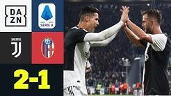 Ronaldo & Pjanic sorgen für nächsten Sieg: Juventus - Bologna 2:1 | Serie A | DAZN Highlights