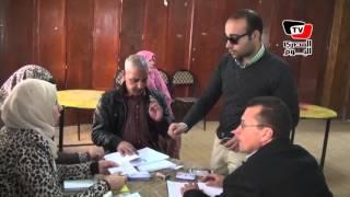 توافد الناخبين علي لجنة «المعلمين» ببني سويف في جولة الإعادة