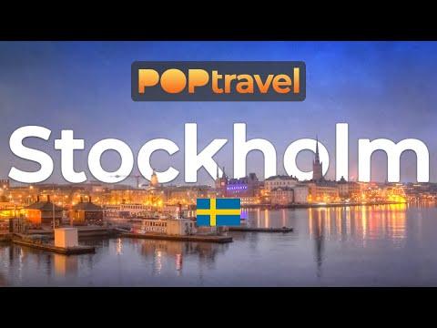 Walking In STOCKHOLM / Sweden 🇸🇪- 4K 60fps (UHD)