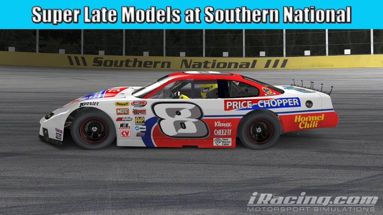 iRacing Super Late Models at SNMP