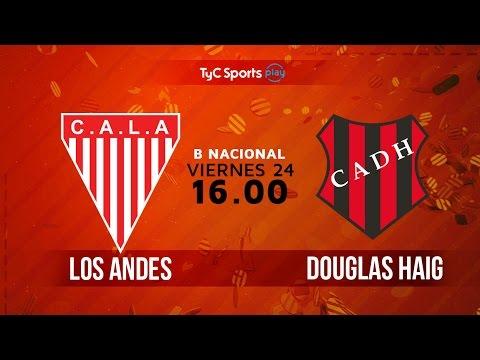 Primera B Nacional: Los Andes vs. Douglas Haig   #BNacionalenTyC