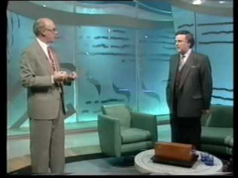 Graham P Jolley  performing his Snooker balls routine on TV