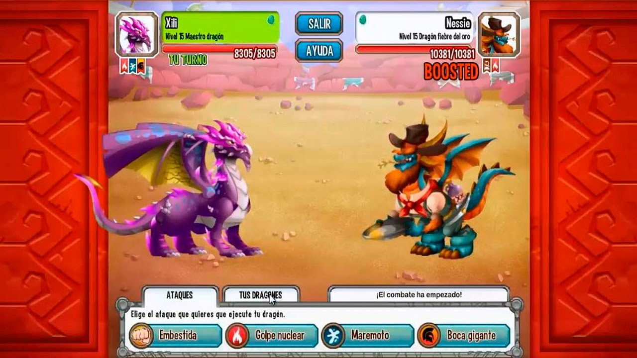 Venciendo Al Dragon Fiebre Del Oro De La Isla Western De Dragon City Youtube