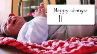 http://salediaperbaby.com - 24 Hours with a newborn baby