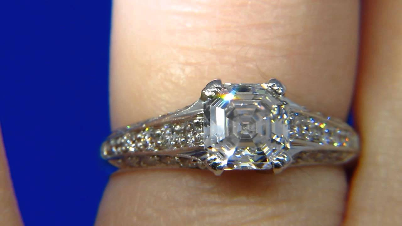 asscher why rings are comeback diamond royal making a engagement