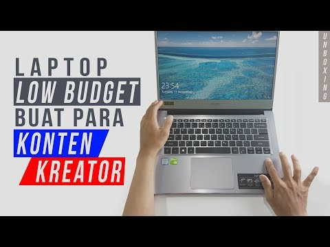 Unboxing Laptop Acer Swift 3 SF314-54G Core I5 Acerday Edition