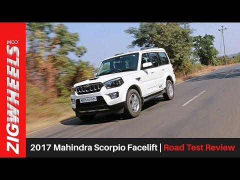 2017 Mahindra Scorpio Facelift | Road Test Review | ZigWheels.com