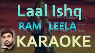 "Yeh Laal Ishq ""Ram Leela"" Original Karaoke"