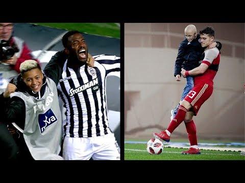 Most Emotional & Beautiful Moments in Greek Football | HD