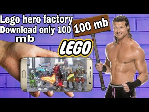 Lego Hero Factory Highly Compressed At 100mb And With Mod Apk