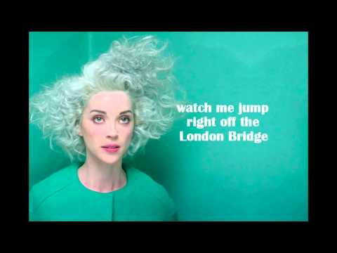 St. Vincent - Digital Witness (LYRICS)