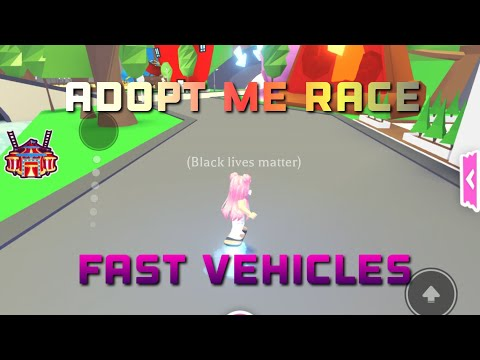 Roblox Adopt Me Races: which vehicle is fastest, royal egg prize