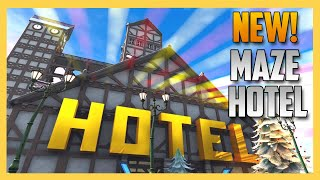New! Hotel Maze from JeffVH - Fortnite Creative Code Inside! | Swiftor