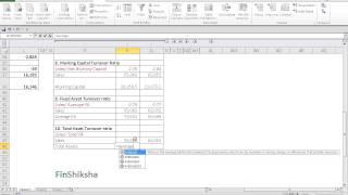 FinShiksha - Total Asset Turnover ratios