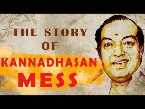 THE  STORY OF KANNADHASAN MESS | Madras Masala Epi 8 | Food Feature | Madras Central