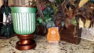 Scentsy Seafoam Fluted Lampshade Warmer