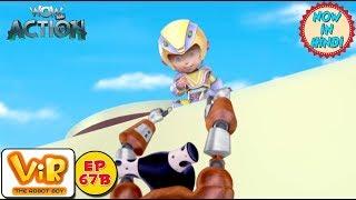 Vir: The Robot Boy | Gold Thief Alien | As Seen On HungamaTV | WowKidz Action