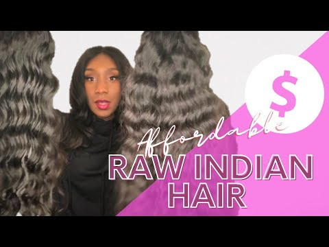 Super Affordable Raw Indian Human Hair Extensions Exclusive Hair Vendor Review