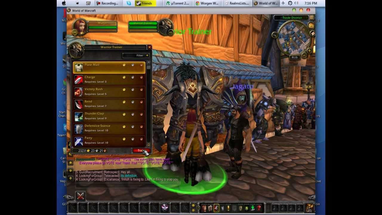 World Of Warcraft Privat Server