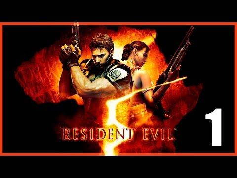 Resident Evil 5 Remaster - Parte 1 Español - Walkthrough Sin Comentar