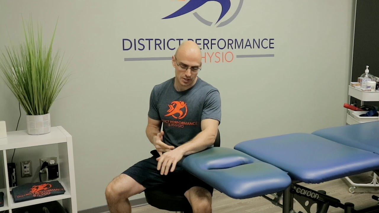 Tennis Elbow Treatment and Exercises