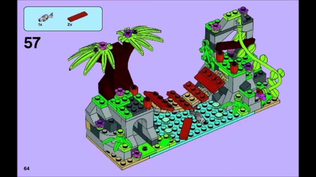 LEGO Friends 41036 - Jungle Bridge Rescue - Building ...