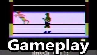 Realsports Boxing Atari 2600 Gameplay