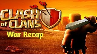 Clash of Clans - part 42 - pre-end of war recap